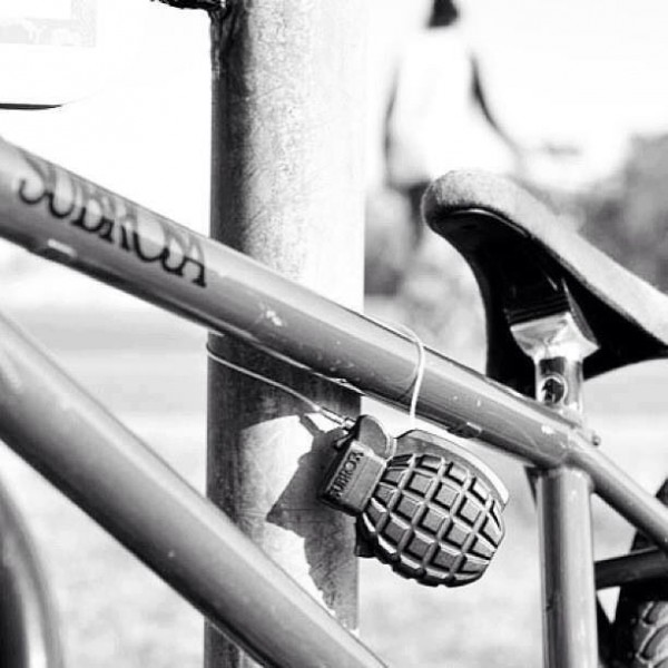 Grenade on bike, Photo: pinimg.com