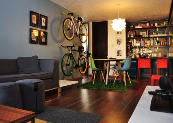 A shed? No… It's a living room for those beauties.