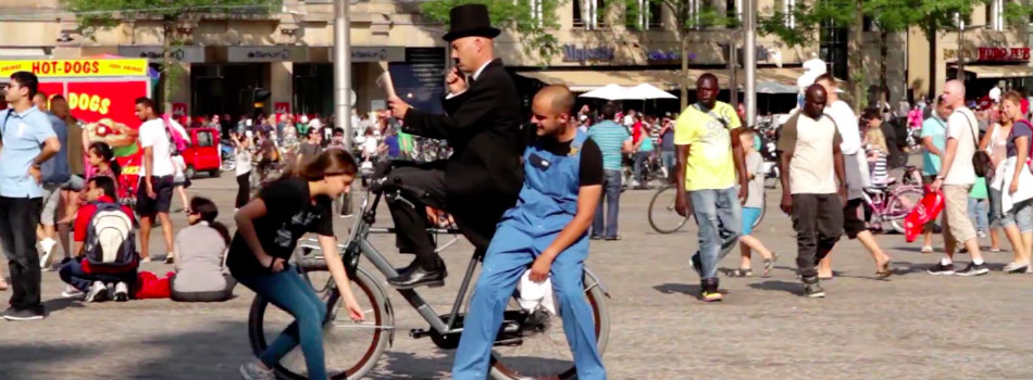Funny VIDEO: How to Cycle Like a Sir?