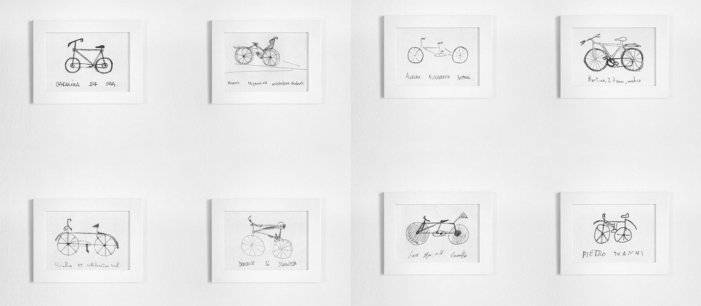 Italian Designer with a Funny Conclusion. It Seems People Just Aren't Able to Draw a Bike!