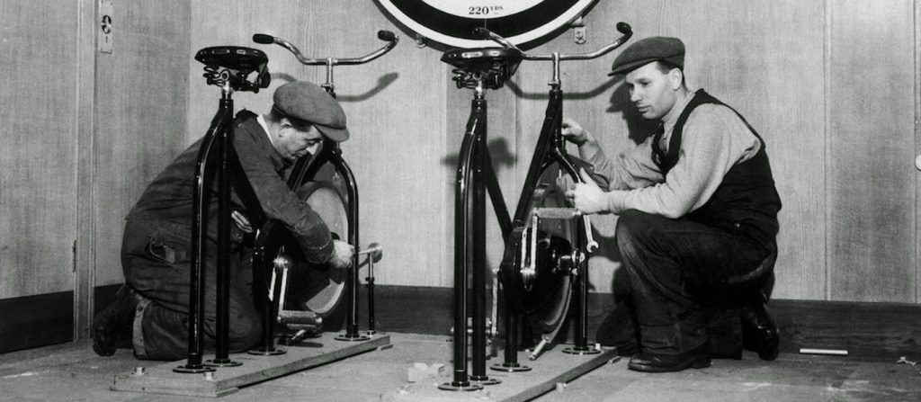 cycling-popular-first-class-gyms-titanic-early-cruise-liners