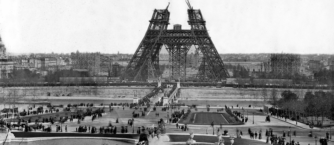 The Grandfather of Downhill: 1920s Cycling on the Eiffel Tower