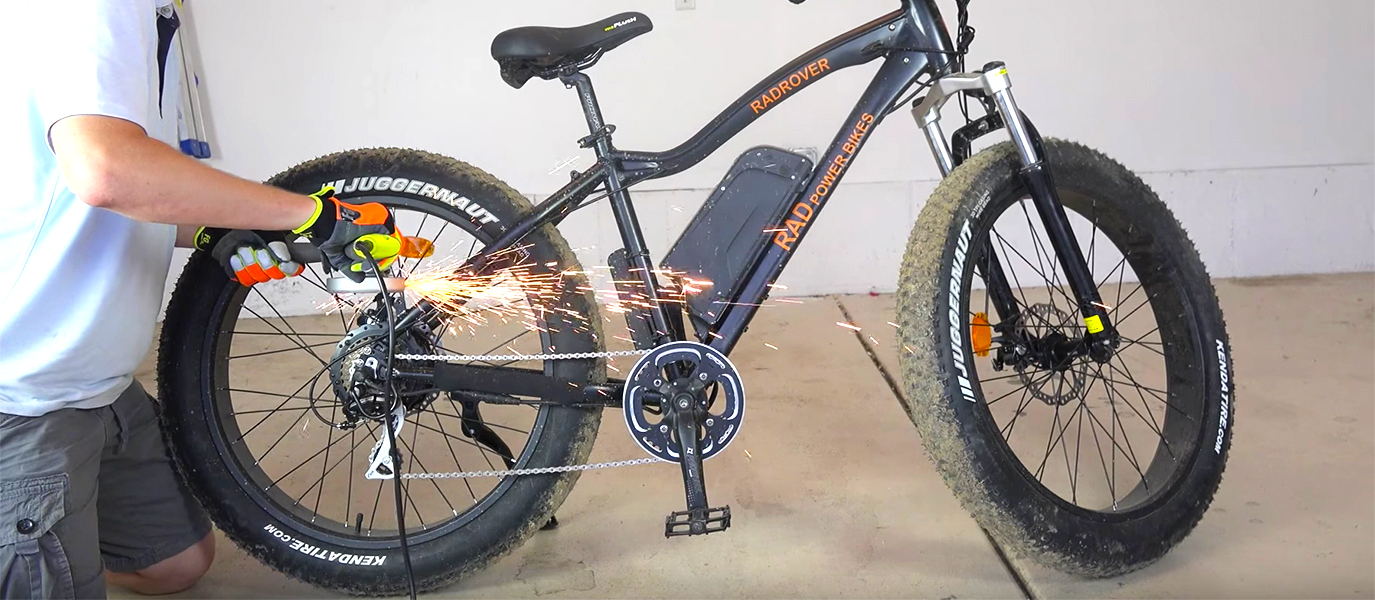 Utah Cutter E-bike Massacre: Look What's Inside of an Electric Bike