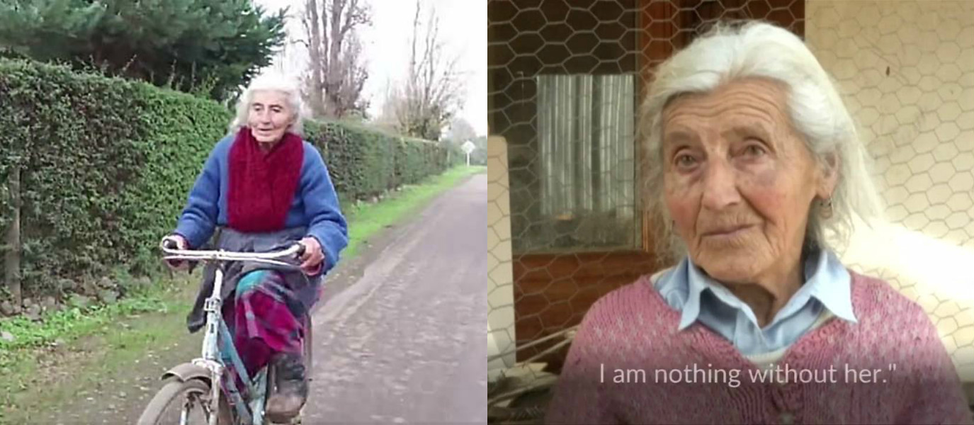 Never Stop Cycling! This 90-Year-Old Woman Does Hundreds of Miles on Her Bike Every Week