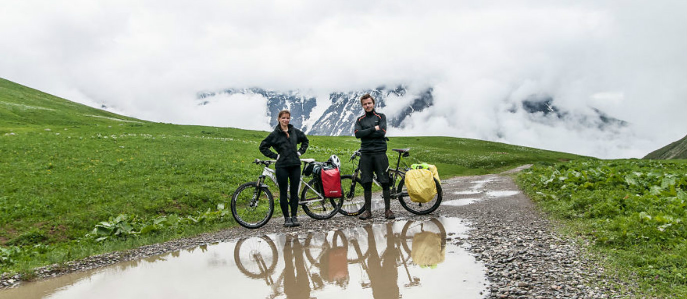 BLOG: We Crossed The Caucasian Mountains In Georgia With Our Bicycles