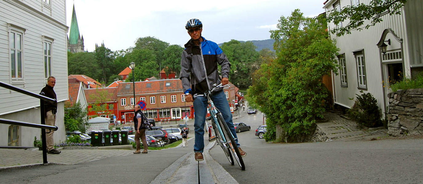Meet Unique Norway's Bicycle Lift