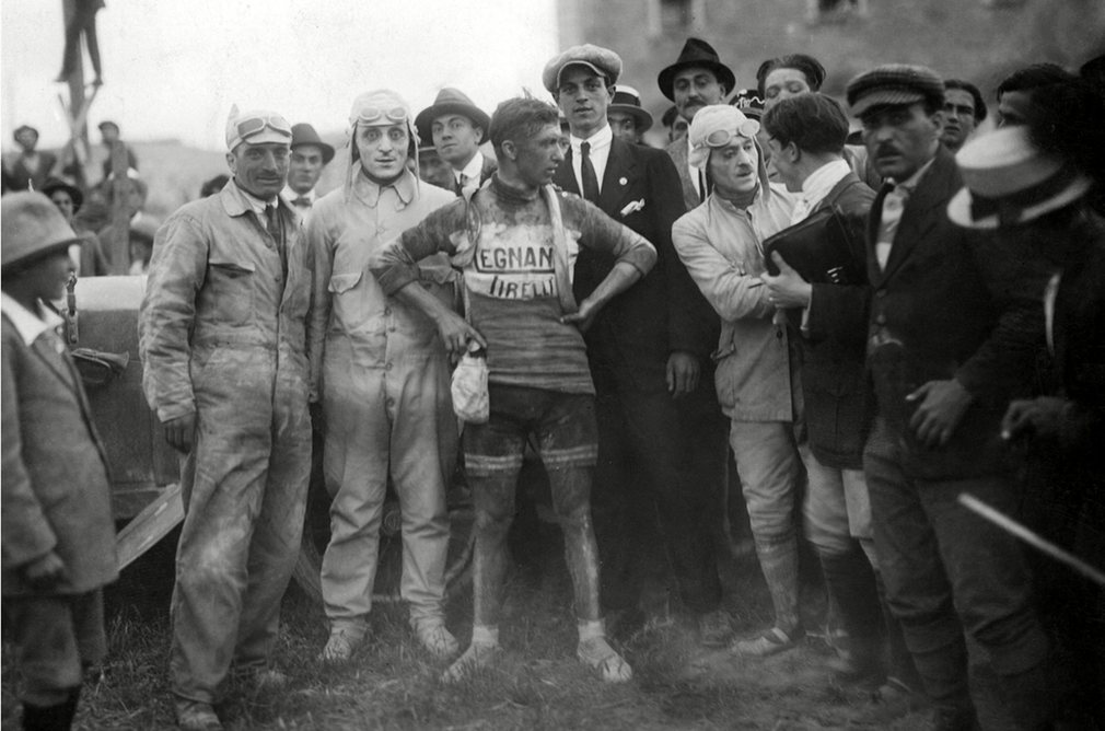 The 1921 Giro winner Giovanni Brunero. It was the first of his three Giro-victories the others came in 1922 and 1926.