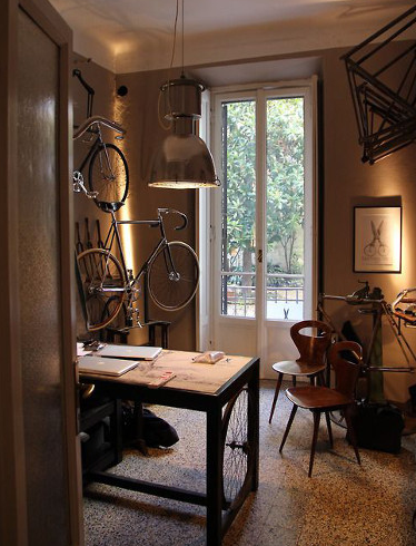 Does this qualify as a bike room?