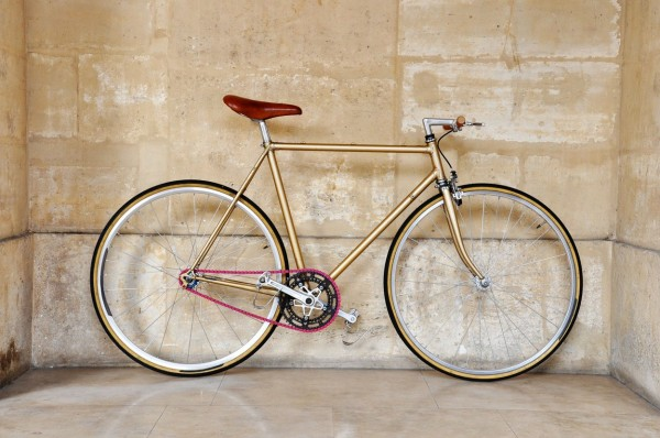 Vintage fixed gear bicycle