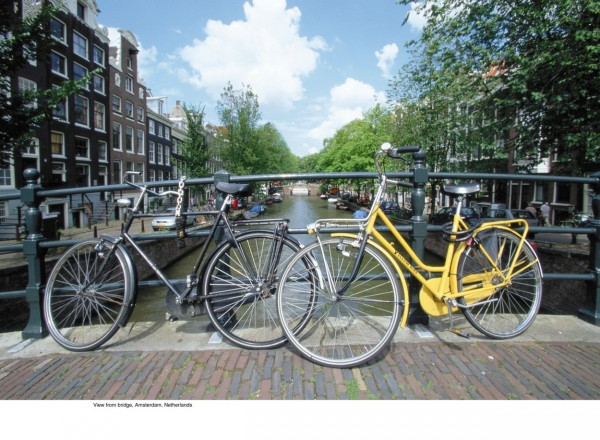 City bikes in Amsterdam