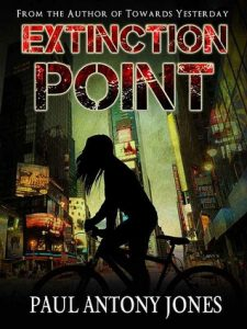 Extinction point cover, Image: Goodreads.com