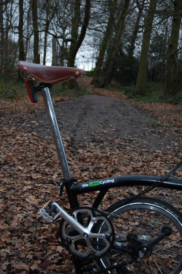 Caning a road bike around Bracknell's cycle paths is something of a luxury.