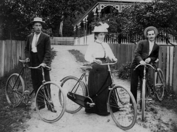 Women gained a significant amount of independence with the invention of the bicycle. This device gave them the freedom to travel outside the home of their own power.