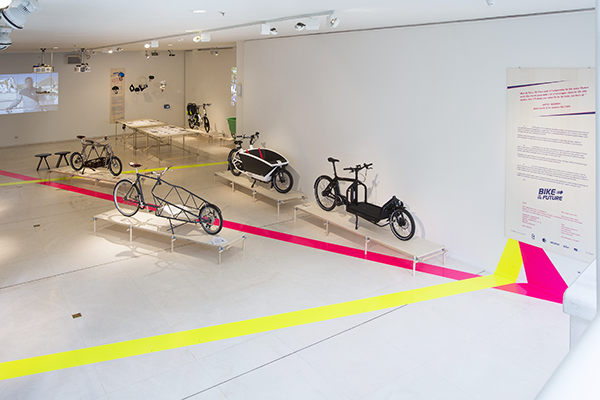 On until October 23rd, Design Museum Gent presents Bike to the Future, an exhibition offering a glimpse into the future of cycling.