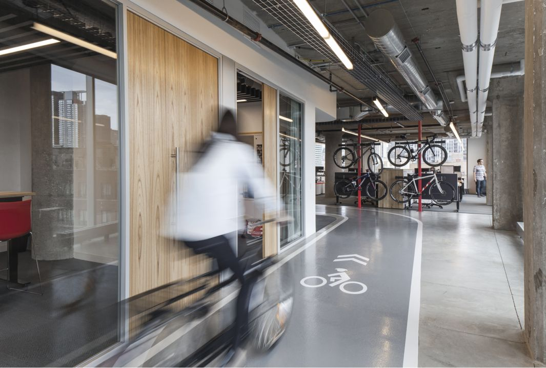 The worldu0027s second largest manufacturer of bike parts has transformed a former cold storage warehouse ... & SRAM headquarters in Chicago is the place where cycling culture ...