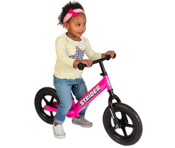 For £60 you can bag yourself a Strider Classic, considered the king of the balance bikes, and the most adjustable on the market, meaning children can start riding it as young as 18 months old. It weighs just 3kg and has an optional footbrake to attach once the rider has mastered the basics.