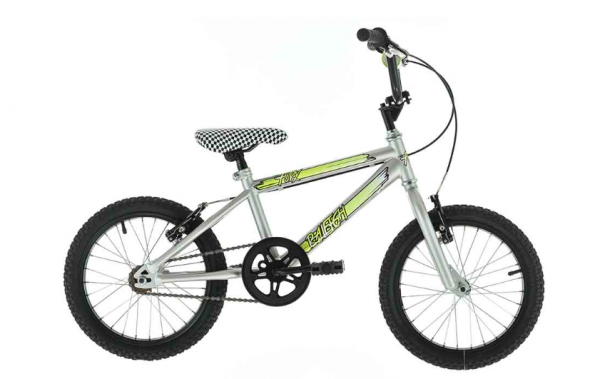 "At £110 the 16"" Raleigh Fury represents one of the best-value bikes in this category. This BMX-style model is definitely the most stylish and comes with stickers to let its new owner personalise it. It's suitable for five-year-olds and older."
