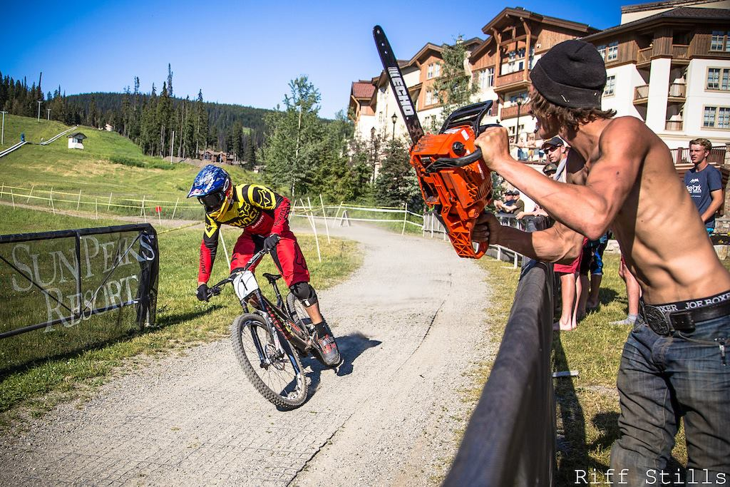 "Born on the Vancouver Island, Stevie was a natural talent and quickly got recognition in the local MTB community. Hard training on the trails of Mt. Prevost paid off in 2013, when he took home the World Cup wins at Leogang, Hafjell, and Mont-Sainte-Anne. That resulted in the overall title, and ""The Canadian Chainsaw Massacre"" became winner of the downhill racing's ultimate series of races."