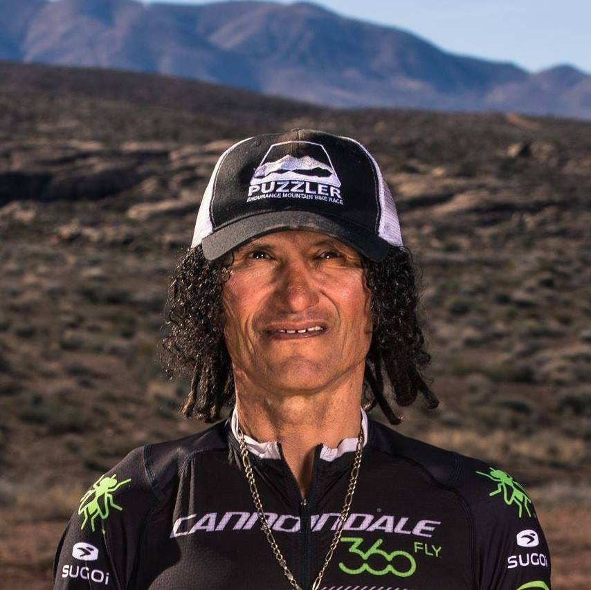 With his distinctive dreadlocks poking from underneath the helmet, skinny build and dark skin, David 'Tinker' Juarez (55) is universally regarded as a legend in both mountain biking and BMX.