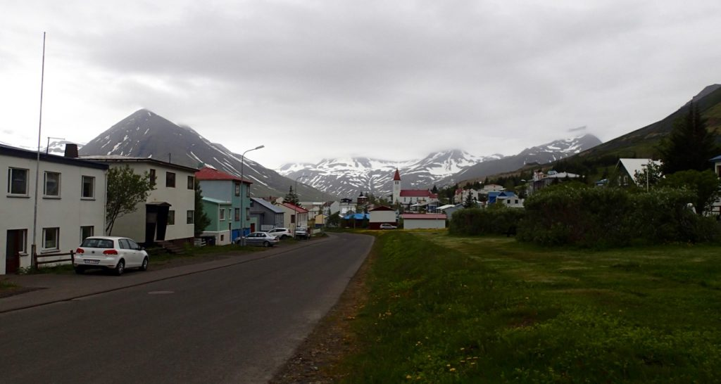 After the west fjords I finally get to see some more Icelandic villages.