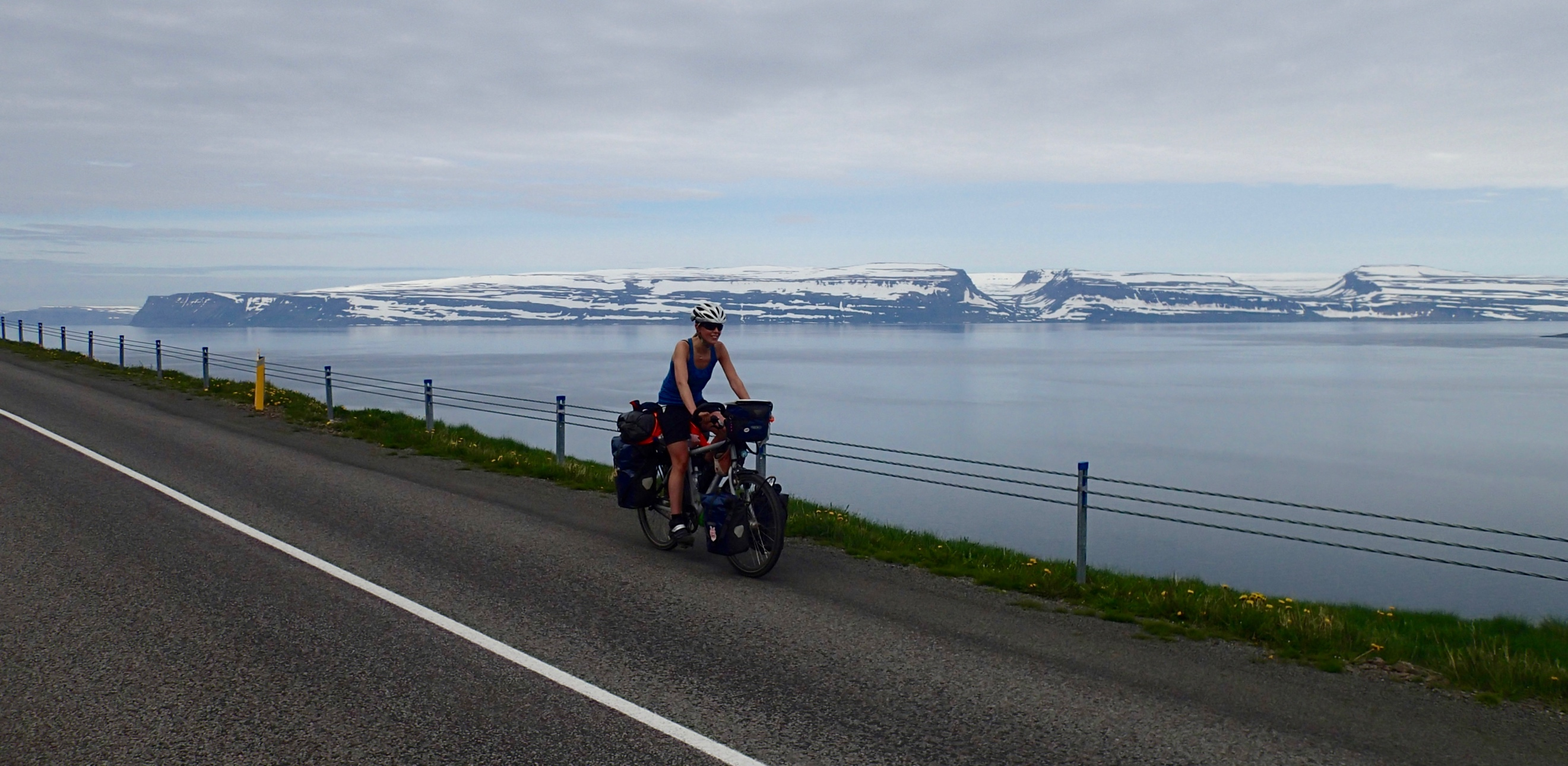 After a day off in Isafjordur I started a real fjord relay.