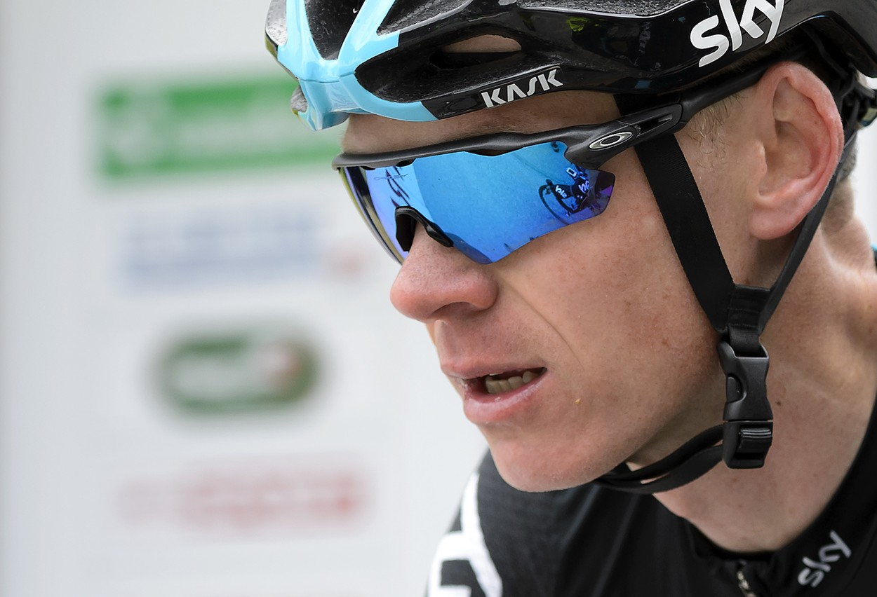 """""""I'm happy with the numbers I could see on the bike and just the feelings on the bike, it feels good, it feels like I'm in good shape now. I've still got some work to do for sure but I'm happy with where I'm, given that we're a month out from the Tour,"""" said Chris."""