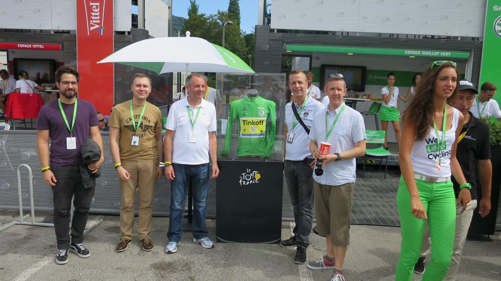 Our winners Bence, Sergei, Paul, Volker and Steve were having the time of their lives.