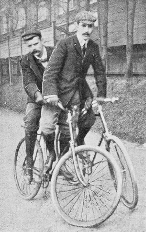 Stunt Bikers from 100 Years Ago (7)