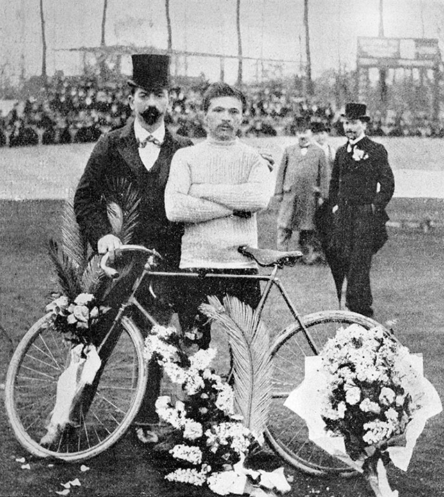 1903: Tour de France winner Maurice Garin