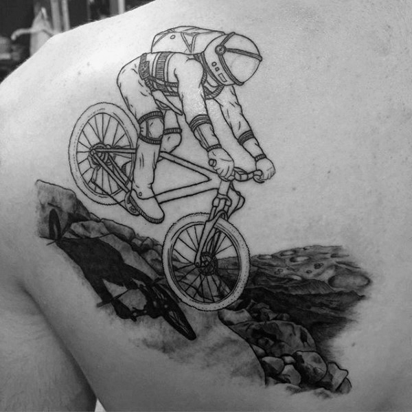 15 Cool Cycling Tattoos When Youve Got It Under Your Skin