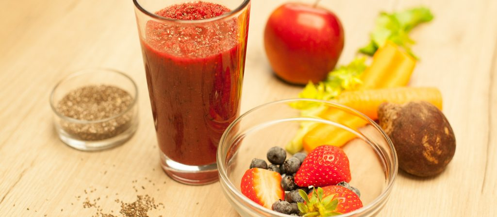 breakfast-fruit-vegetable-puree-chia-seeds