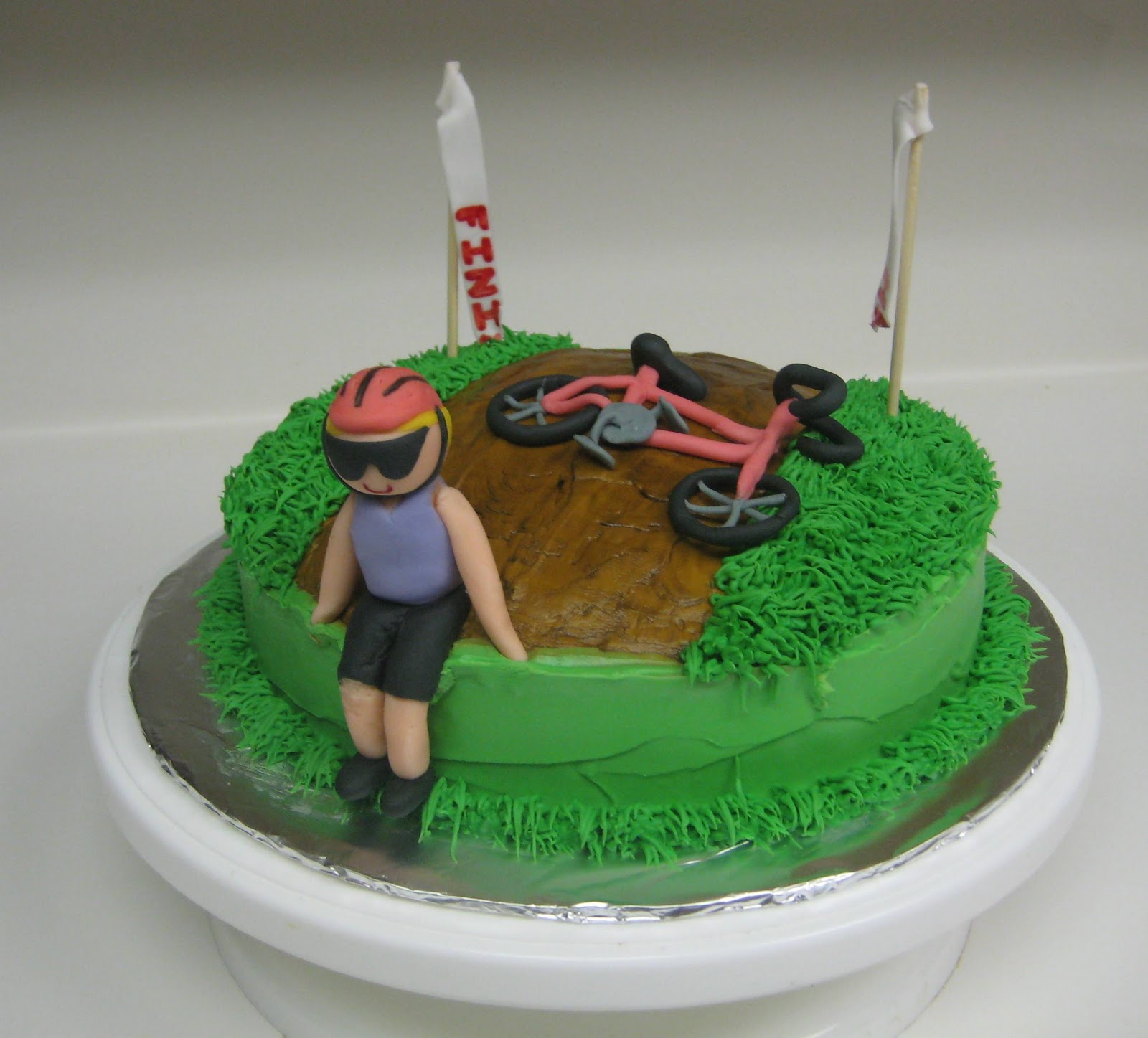 Awe Inspiring Photogallery Bicycle Themed Cakes Are The Answer No Matter The Funny Birthday Cards Online Overcheapnameinfo