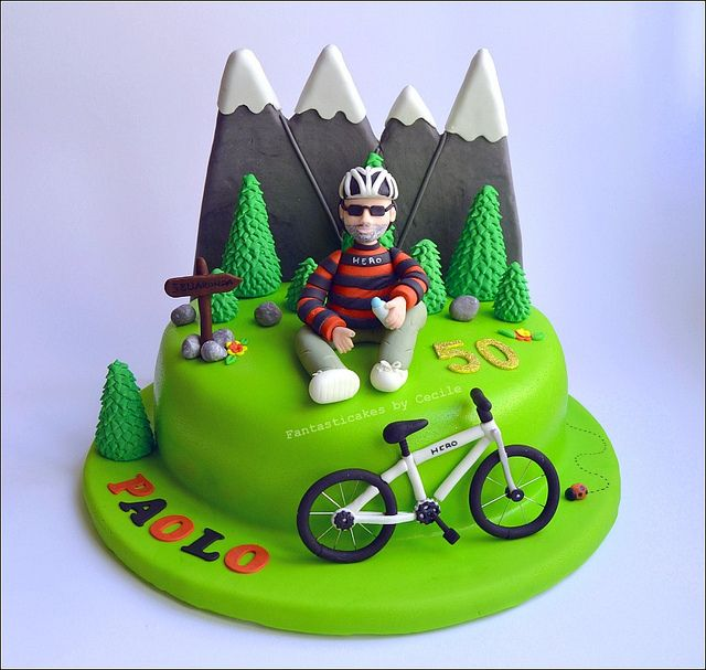 Photogallery Bicycle Themed Cakes Are The Answer No Matter The