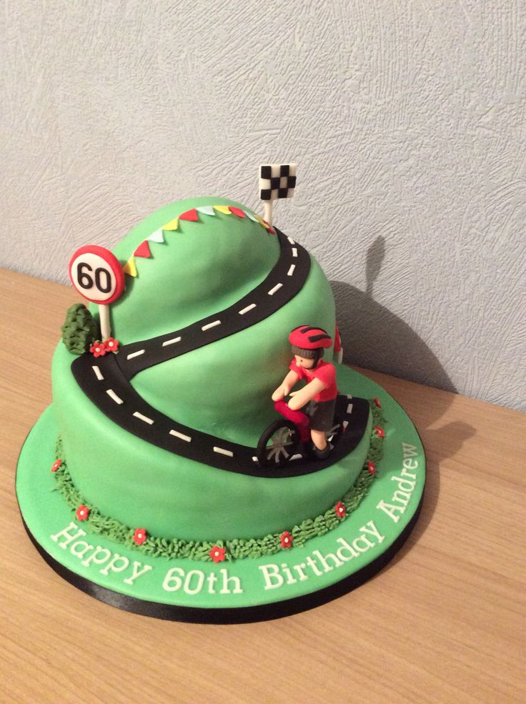 Wondrous Photogallery Bicycle Themed Cakes Are The Answer No Matter The Funny Birthday Cards Online Overcheapnameinfo