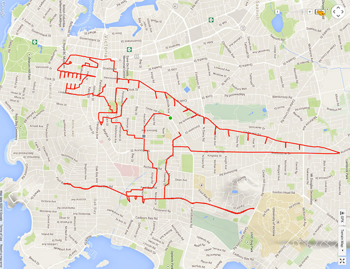 Become A Strava Artist Like Canadian Stephen Lund Welovecycling