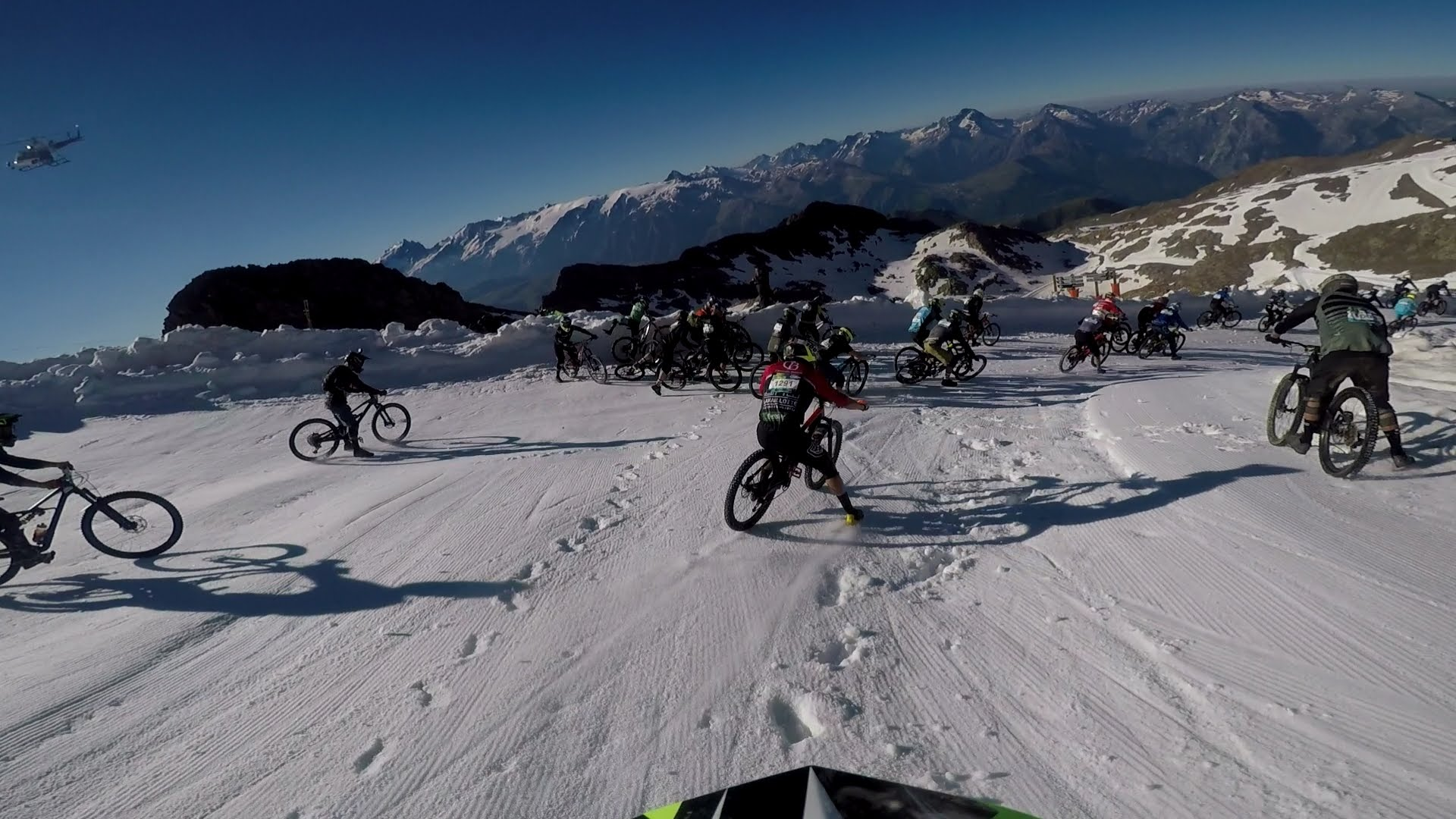92ba33b7c0f First Hand  How I Made It Down the Megavalanche - WeLoveCycling magazine