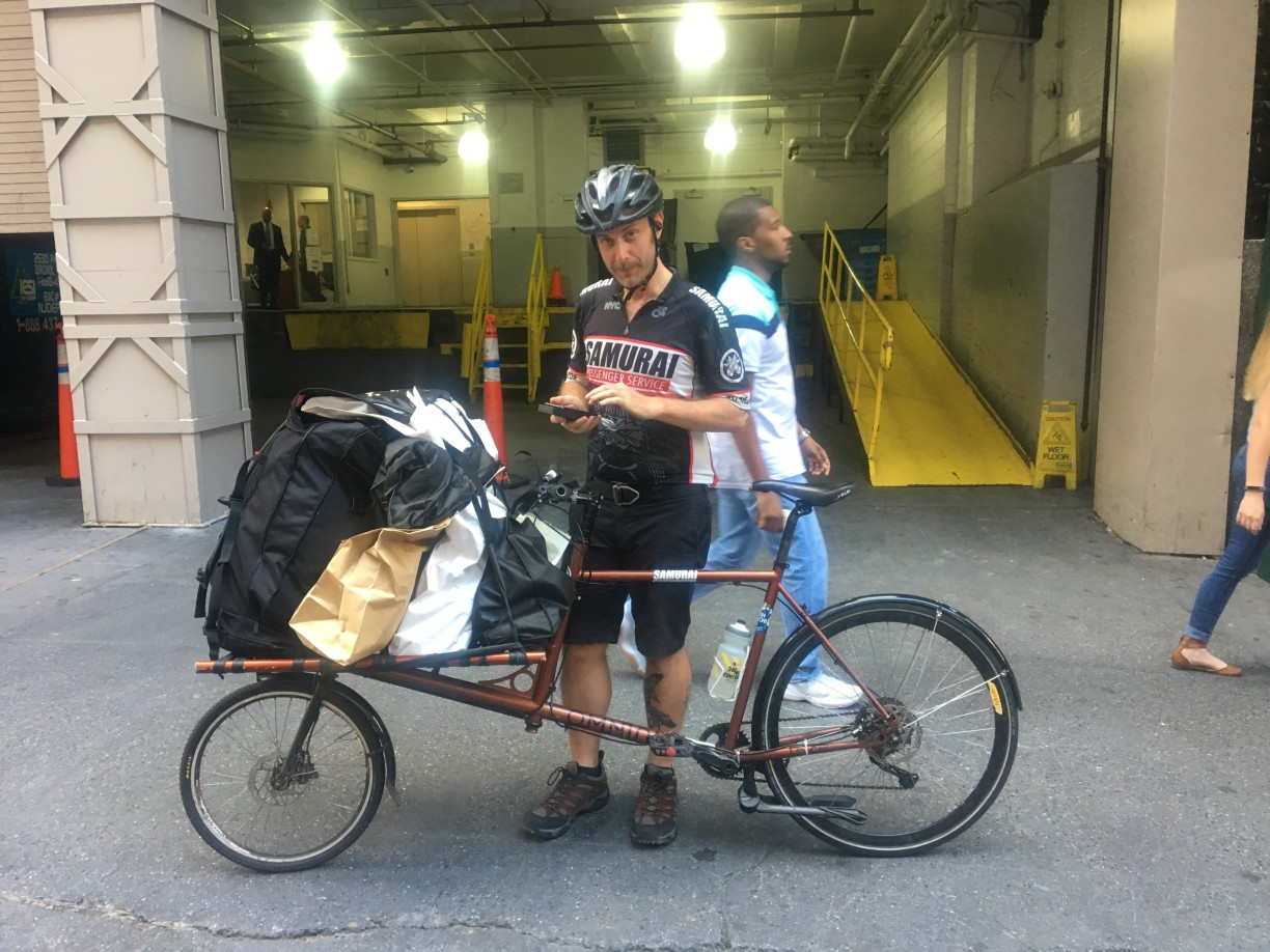 Interview New York Bike Messenger Subculture Through The