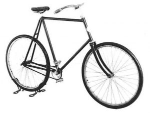 A Wright Van Cleve bicycle
