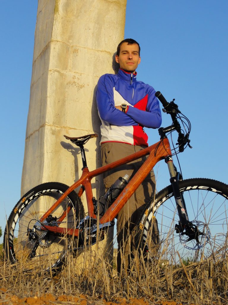 """He proudly calls it """"the Rolls-Royce of bicycles."""""""